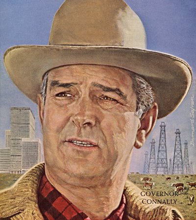 Governor john connally governor of texas 1962 1969