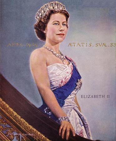 Queen Elizabeth II, Monarch of the United Kingdom 1953-date