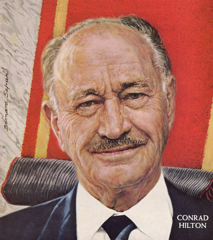 Conrad Hilton Owner Of Hotels
