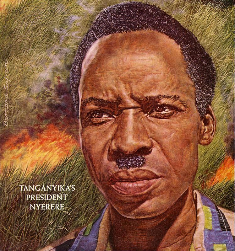 Portrait Of Julius Nyerere